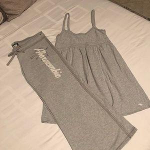 Abercrombie Sweat pants and dress bundle